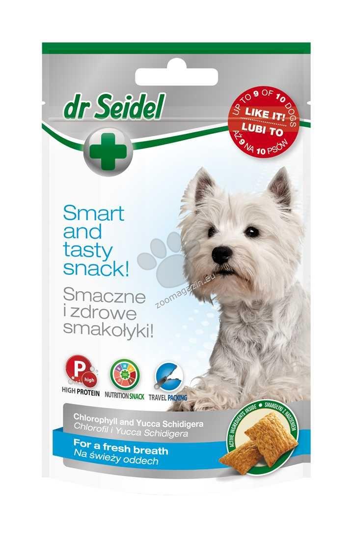 Dr.Seidel - Snacks for a fresh breath - деликатесно лакомство за свеж дъх 90 гр.