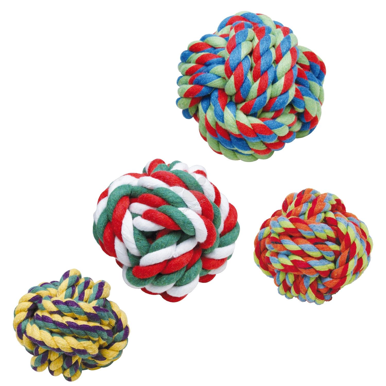 Gloria Cotton rope ball - въжена топка, 4-5 см