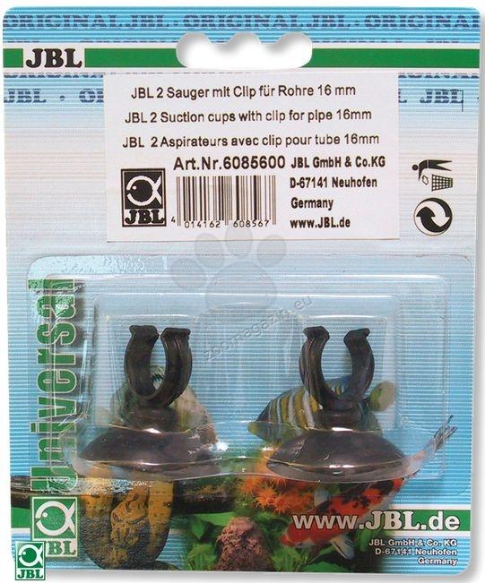 JBL Suction cup w.clip (16mm),2pcs - вендузи със щипки 2 бр