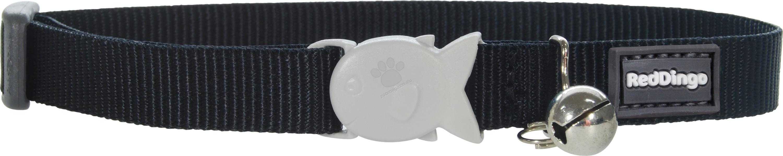 Red Dingo Cat Collar Classic Black - нашийник за малки котета, 8 мм х 16-26 см