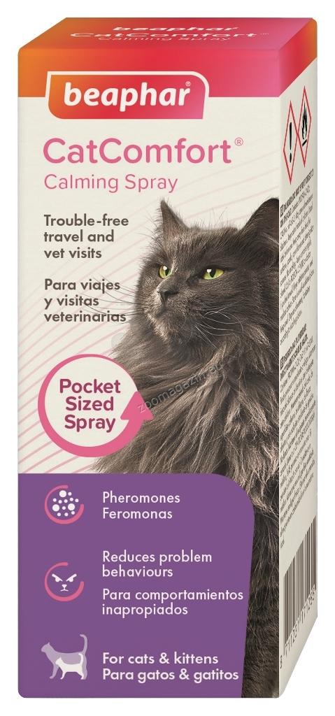 Beaphar Cat Comfort - Успокояващ спрей с феромони за котки 30 мл.