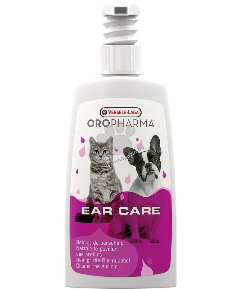 Versele Laga - Ear Care Cat/Dog - лосион за ушната хигиена на кучето с алантоин и диви виолетки 150 мл.