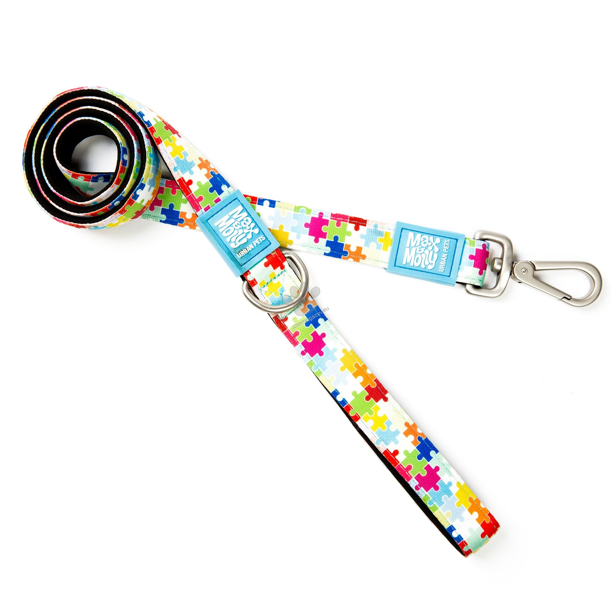 Max Molly Short Leash Puzzle XS - повод 120 см. / 10 мм.