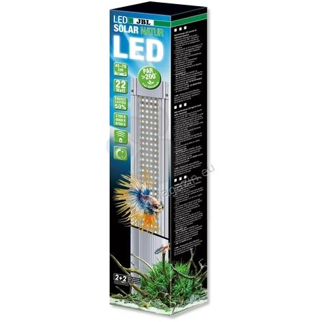 JBL LED Solar Natur - ярко LED осветление за сладкoводни аквариуми 68W, 1449/1500 mm.