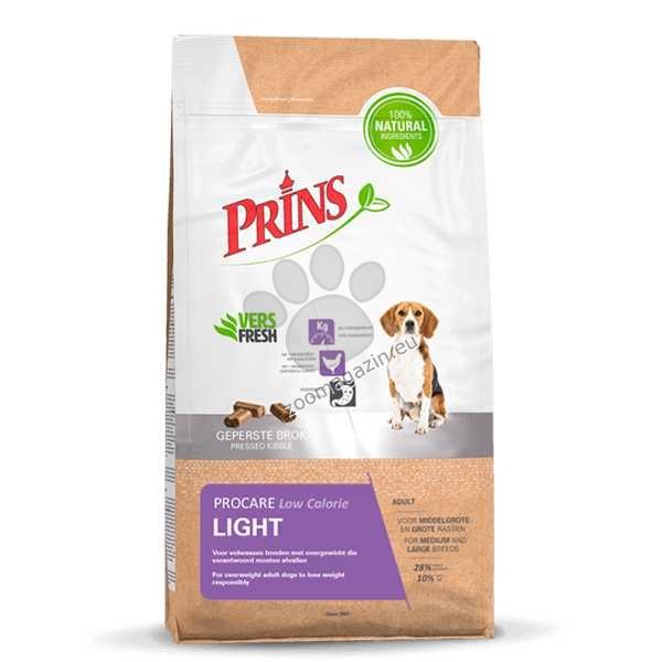 Prins ProCare Light - с пилешко и пуешко месо, за кучета с наднормено тегло 3 кг.