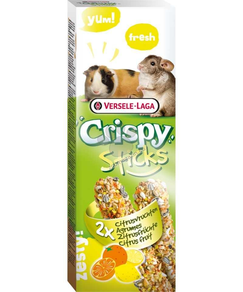 Versele Laga - Crispy Sticks Citrus Fruit - крекер с цитрусови плодове - 2 х 55 гр.