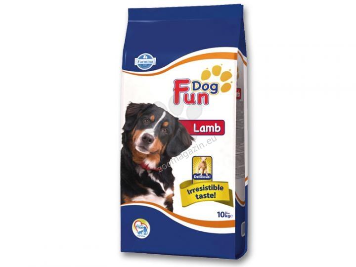 Farmina Fun Dog Adult Lamb 22/9 - пълноценна храна с агнешко месо, за кучета с нормална физическа активност над 12 месеца 10 кг.