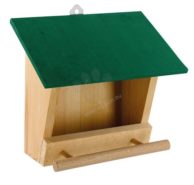 Ferplast - Natura F4 - градинска хранилка за диви птички  25 / 13,6 / 22,2 cm