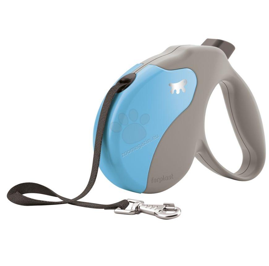Ferplast - Amigo Tape S Beige Turquoise - 5 метра лента, за кучета с тегло до 15 кг.