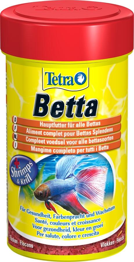 Tetra - Betta - специализирана храна за бети 100 мл.