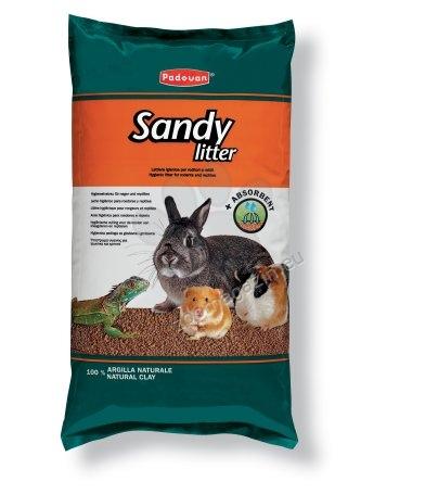 Padovan Sandy litter - хигиенна постелка за влечуги и гризачи 4 кг.