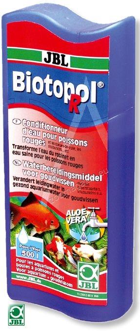 JBL Biotopol R - препарат за стабилизиране и поддръжка на водата за златни рибки 100 мл.