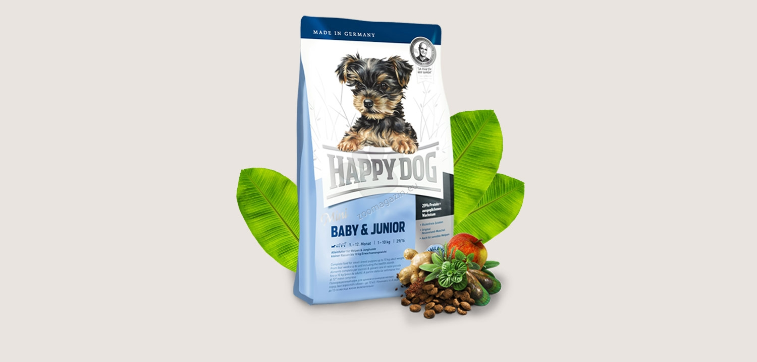 Happy Dog Supreme Mini Baby Junior 1 Kg Daftar Harga Terkini Alphaprints With Meat And Herbs For Dogs Up To 10