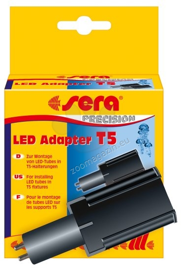 Sera - LED Adapter T8 / T5 - адаптер за лампи стандарт T5