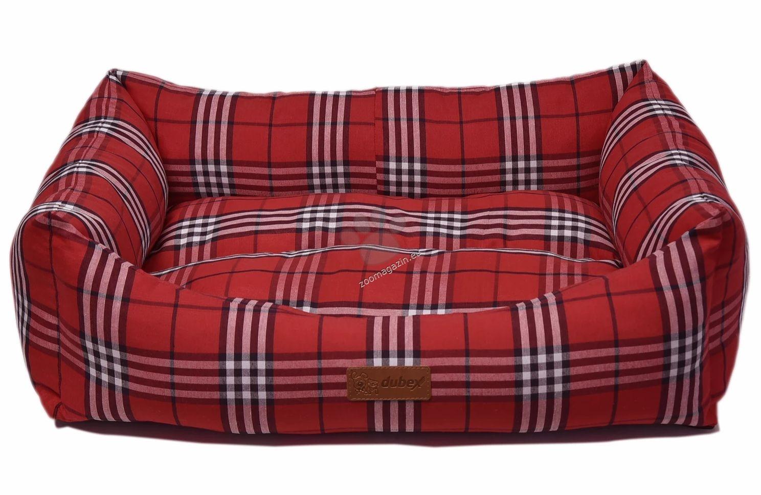 Dubex Danish bed M - меко легло / бежаво, червено, синьо / 62 / 44 / 22 см.