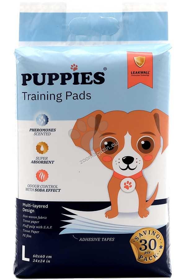 Puppies - хигиенна подложка с феромони 60 / 60 см., 30 броя