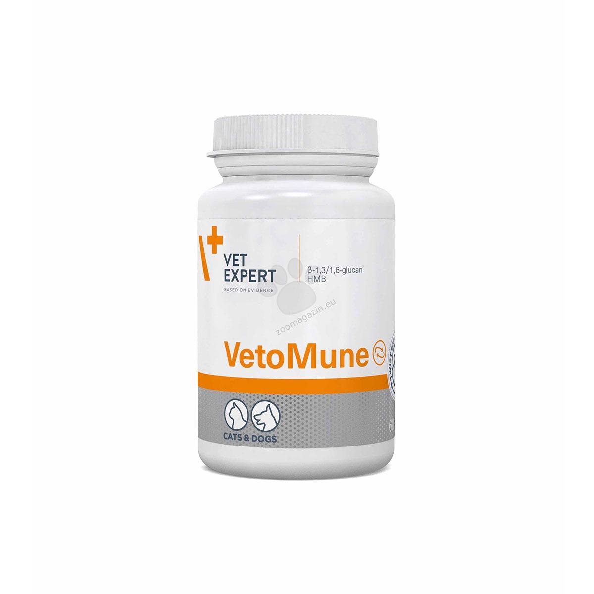 Vetexpert - VetoMune - двоен имуностимулиращ ефект 60 табл.