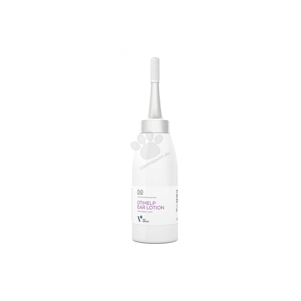 Vetexpert - OtiHelp ear lotion - за оптимална хигиена на ушния канал 75 мл.