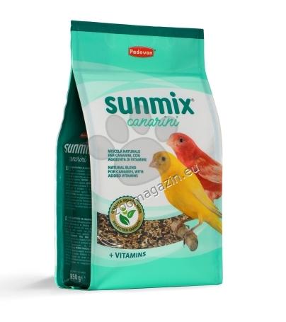 Padovan Sunmix Canarini - пълноценна храна за канарчета 850 гр.