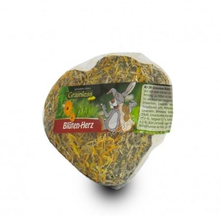 JR Farm Grainless Heart with Petals - сърце с билки и зеленчуци 90 гр.