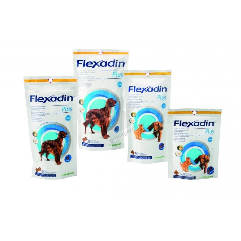 Vetoquinol - Flexadin Plus Max - нова подобрена формула за кучета над 10 кг. / 30 табл.