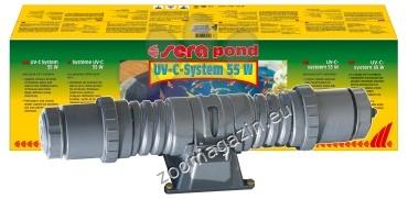 Sera - UV-C система 55 W за пречистване на аквариуми и езера
