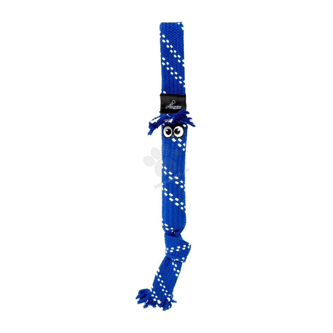 Rogz Scrubz Medium - играчка от въже / синя, червена, оранжева, розова, зелена / 44 см.