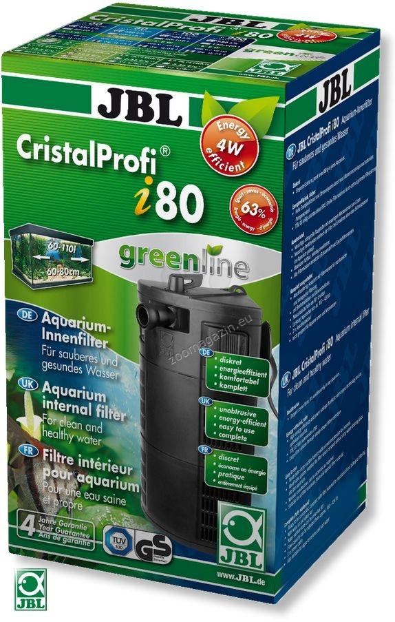 JBL CristalProfi i80 greenline - вътрешен филтър за аквариуми от 60 до 110 литра
