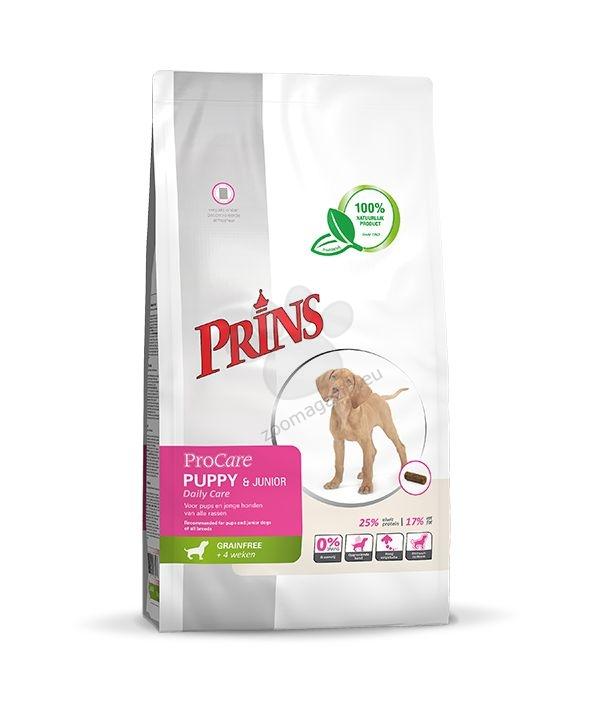 Prins Grain Free Daily Care Puppy & Juniror - препоръчва се за кученца и млади кучета от всички породи 20 кг.