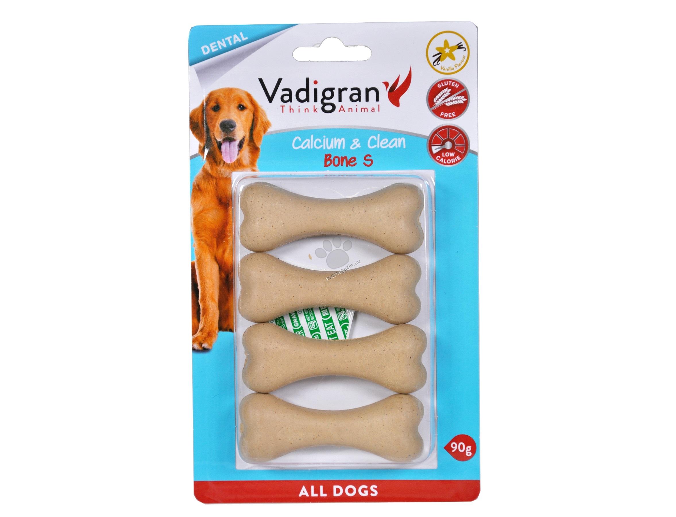 Vadigran - Pressed Chevbone Calcium & Clean - калциево кокалче, за висока устна хигиена 90 гр. / 7.5 см.