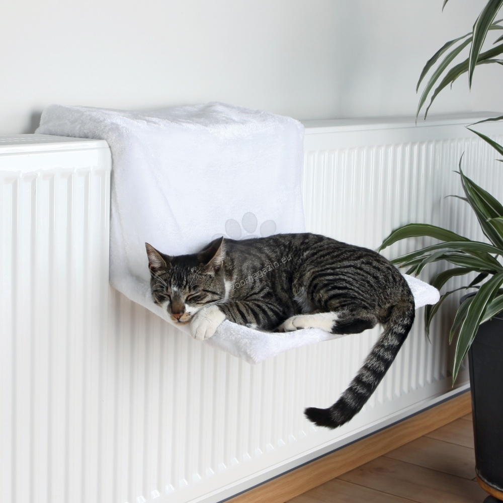 Trixie Radiator Bed, Plush - котешки хамак за радиатор 45 / 24 / 31 см. /бяла /