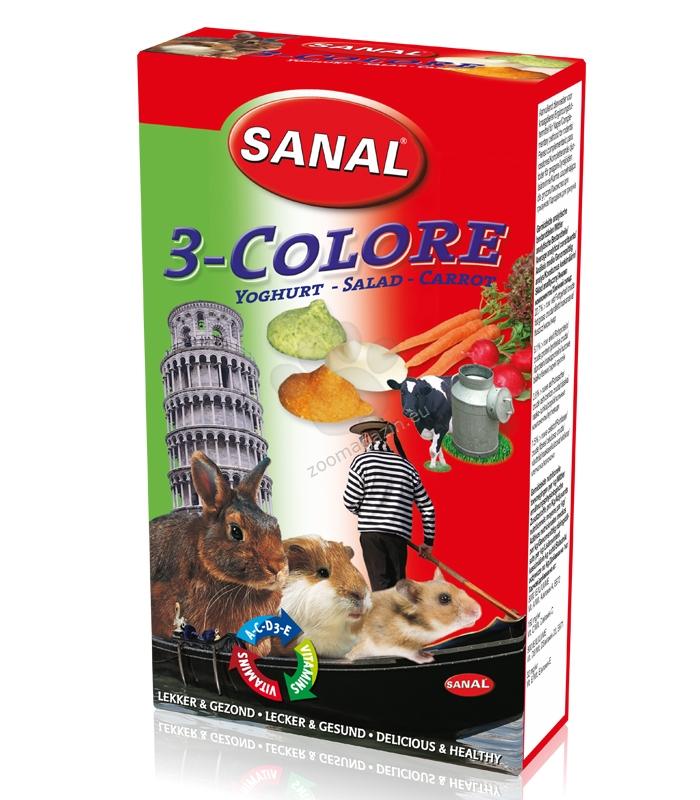Sanal Rodent 3 colore drops - деликатесно лакомство с три вкуса 45 гр.