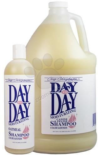 Chris Christensen Day to Day Shampoo - нежно почистващ, терапевтичен овлажняващ шампоан създаден специално за козина подложена на чести манипулации 118 мл.