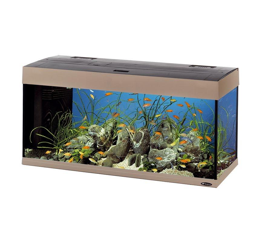 ferplast dubai 100 melodia grey fully equipped aquarium. Black Bedroom Furniture Sets. Home Design Ideas