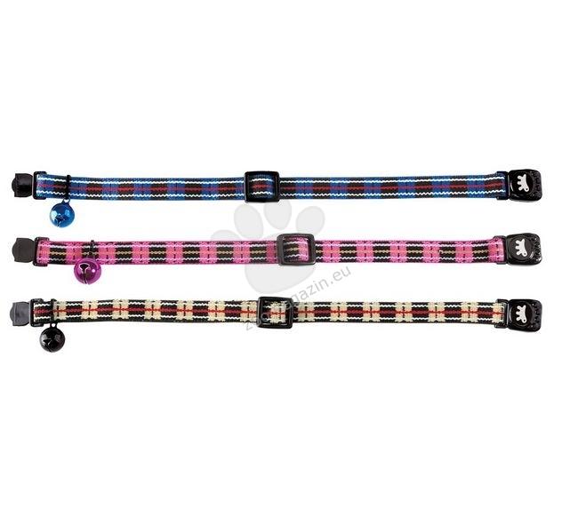 Ferplast Gat 5626 C10/32 - κολάρο για γάτες περιφέρεια του λαιμού 20-32 cm. / μπλε, ροζ, μαύρο /