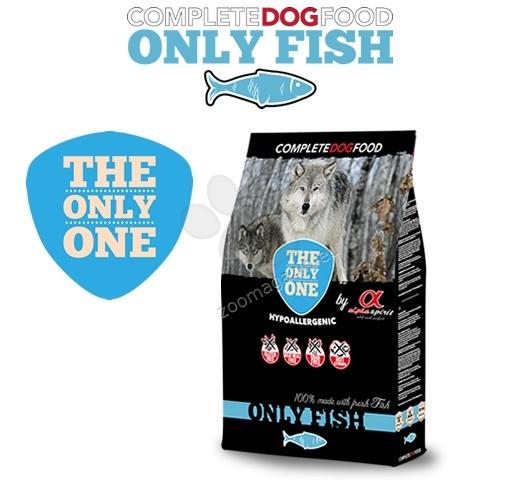 Alpha Spirit The only one Fish - за кучета над 12 месечна възраст, подходяща за всички породи 3 кг.