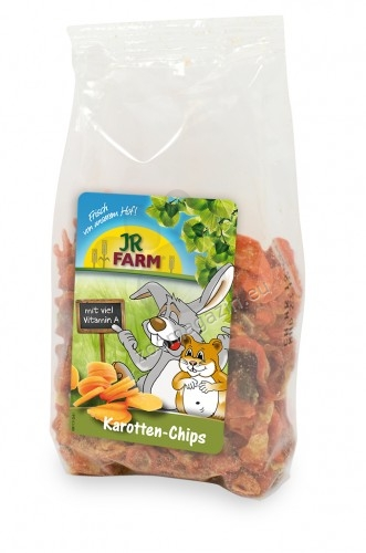 JR Farm Carrot Slices - натурални резенчета моркови 125 гр.
