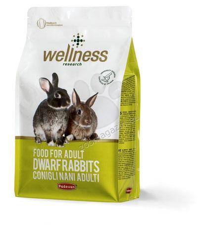 Padovan Wellness Food for Adulr Rabbits - премиум храна за мини зайци 3 кг.