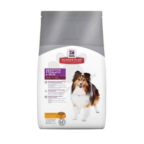 Hills Science Plan Canine Adult Sensitive Stomach & Skin - кучета в зряла възраст с чувствителна кожа и храносмилателна система 3 кг.