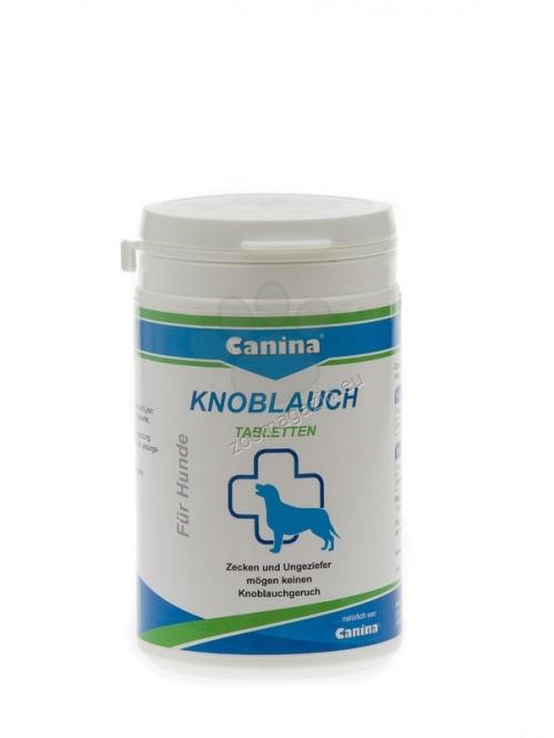 Canina Petvital Garlic Tablets - хранителна добавка за кучета, която премахва паразити, има силен антибактериален ефект, 180 гр. /45 таблетки/