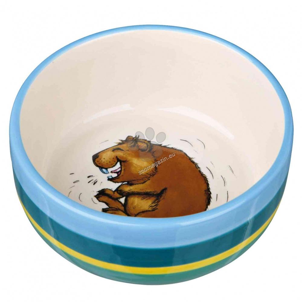 Trixie Ceramic Bowl - керамична купичка 250 мл.
