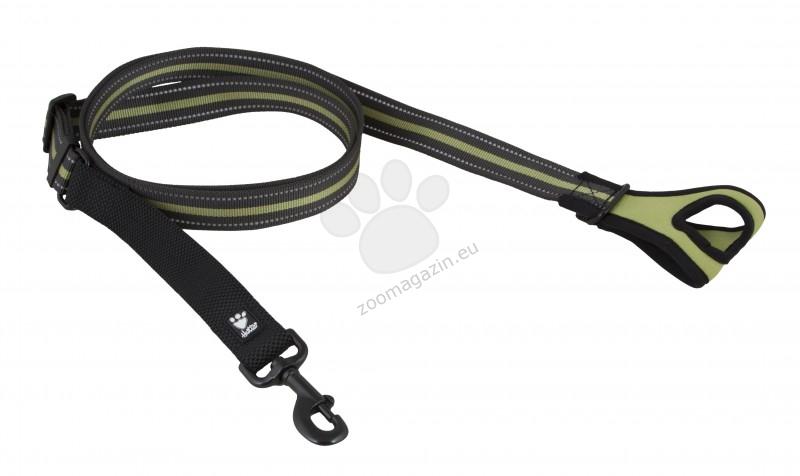 Hurtta Jogging Leash - повод за бягане 60-90 см. / 20 мм. / зелен, червен /