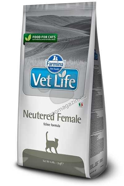 Vet Life Natural Diet Cat Neutered Female - храна за кастрирани женски котки 2 кг.