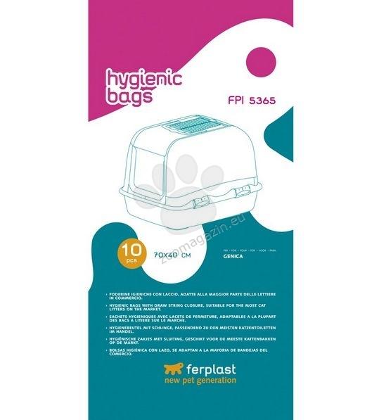 Ferplast - Hygienic Bags - торбички за котешка тоалетна Genica - 10 броя