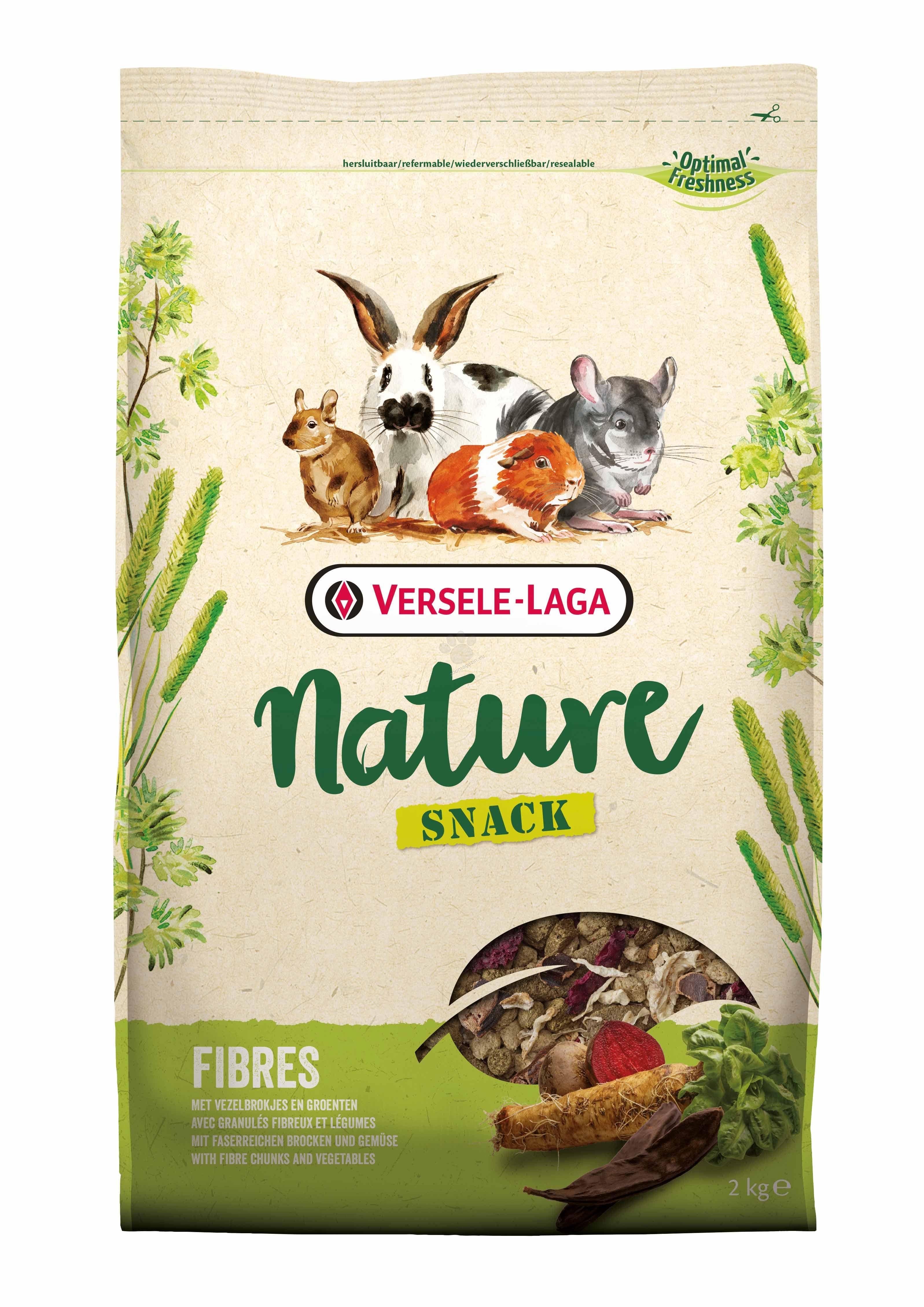 Versele Laga - Nature Snack Fibers - разнообразна фибри закуска 2 кг.