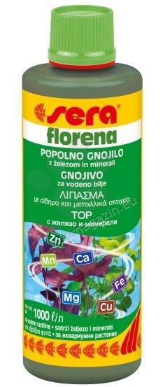 Sera - Florena - течен тор за сладководни аквариумни растения 100 мл.