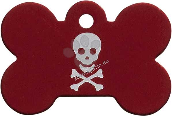 iMARC - Red Pirate Skull Bone