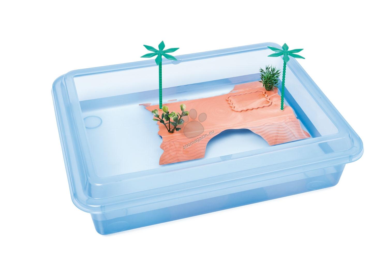 Georplast - Tortuga Max - терариум за водни костенурки 43.5 / 34 см.