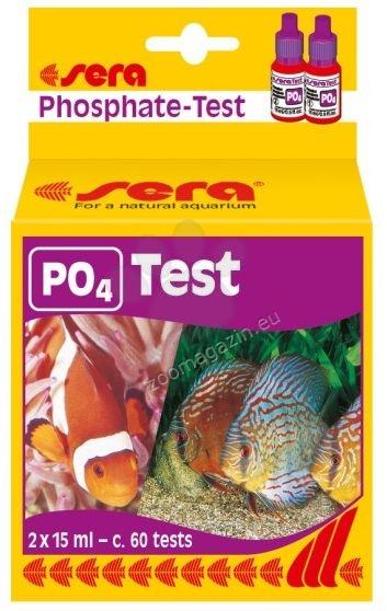 Sera - PO4 Test - за измерване на нивото на фосфатите в сладководни и соленоводни аквариуми