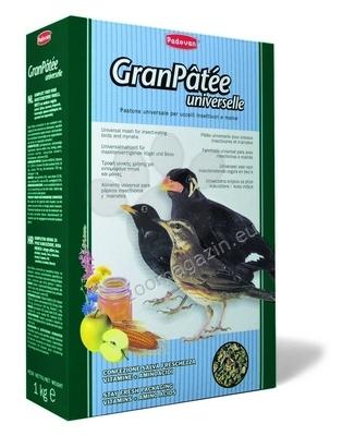 Padovan GranPatte universelle - пълноценна храна с витамини насекомоядни птици 1 кг.